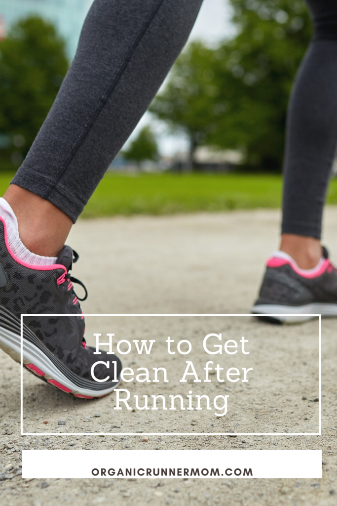 How to get clean after running.