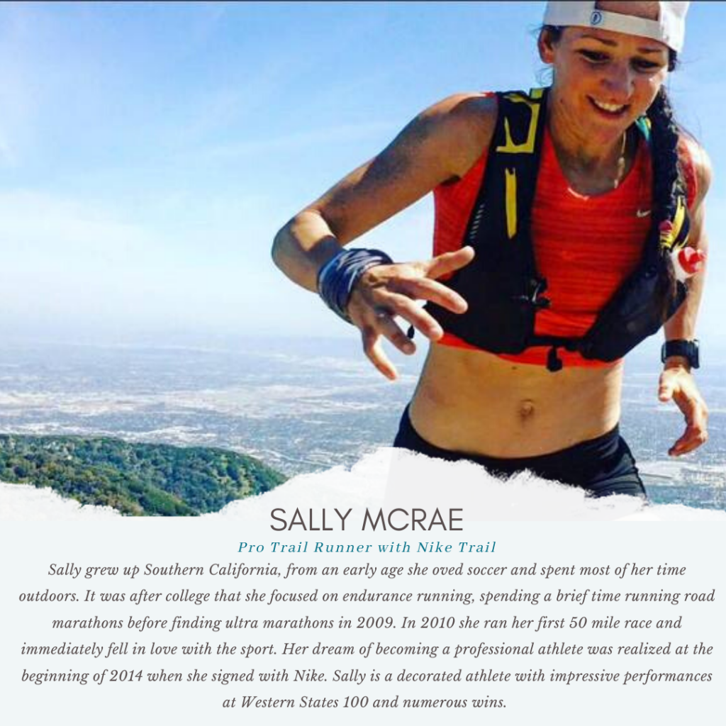 Pro Trail Runner with Nike Sally McRae
